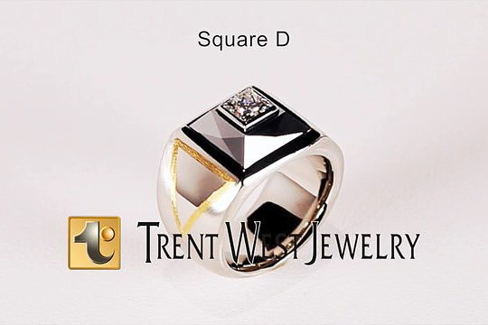 The Square D - Trent West Jewelry