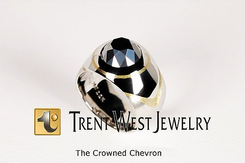 The Crowned Chevron - Trent West Jewelry